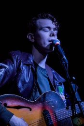 Vacay performs at the Drake Hotel in Toronto on April 22, 2017. (Photo: Sarah McNeil/Aesthetic Magazine)