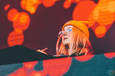 Whipped Cream performs at Snowbombing Canada at Sun Peaks Resort in Sun Peaks, British Columbia on April 8, 2017. (Photo: Timothy Nguyen/Aesthetic Magazine)