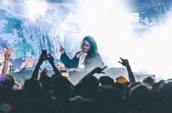Yurie performs at Snowbombing Canada at Sun Peaks Resort in Sun Peaks, British Columbia on April 7, 2017. (Photo: Timothy Nguyen/Aesthetic Magazine)