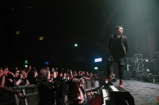 AFI performs at the O2 Apollo Manchester in Manchester, UK on May 6, 2017. (Photo: Luke Hannaford/Aesthetic Magazine)