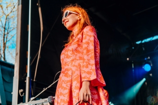 Austra performs at CBC Music Festival at Echo Beach in Toronto on May 27, 2017. (Photo: Nicole De Khors/Aesthetic Magazine)