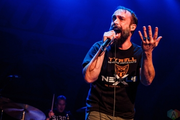 Clutch performs at Lupo's Heartbreak Hotel in Providence, RI on May 16, 2017. (Photo: Timothy Boyer/Aesthetic Magazine)