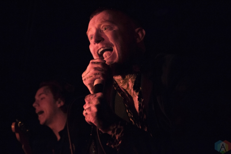 Frank Carter & the Rattlesnakes perform at Hard Luck Bar in Toronto on May 17, 2017. (Photo: Sarah Traversy/Aesthetic Magazine)