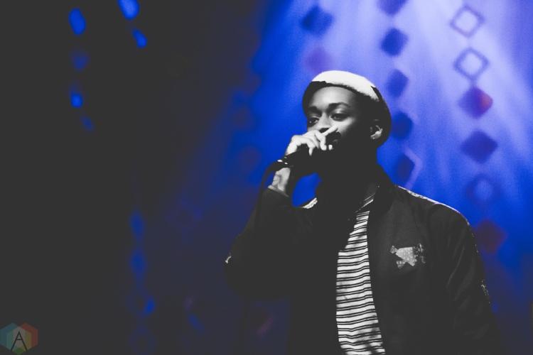 GoldLink performs at the Danforth Music Hall in Toronto on May 4, 2017. (Photo: Brendan Albert/Aesthetic Magazine)