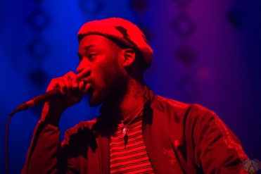 GoldLink performs at the Danforth Music Hall in Toronto on May 4, 2017. (Photo: Brendan Albert/Aesthetic Magazine)