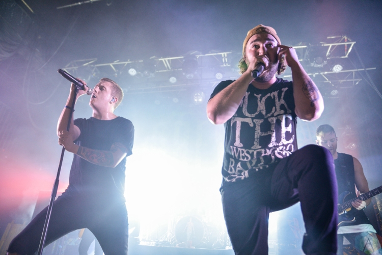 I Prevail performs at the Opera House in Toronto on May 11, 2017. (Photo: Joanna Glezakos/Aesthetic Magazine)