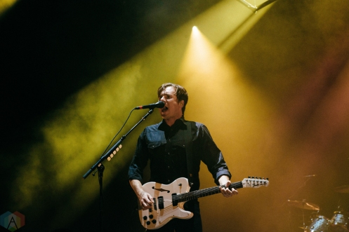 Jimmy Eat World performs at the PIQNIQ Music Festival at the Hollywood Casino Amphitheatre in Chicago on May 20, 2017. (Photo: Callie Craig/Aesthetic Magazine)