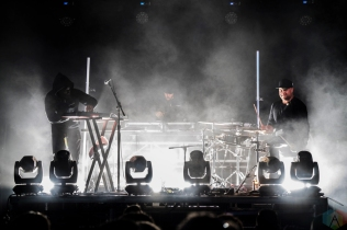 Keys N Krates performs at CBC Music Festival at Echo Beach in Toronto on May 27, 2017. (Photo: Nicole De Khors/Aesthetic Magazine)
