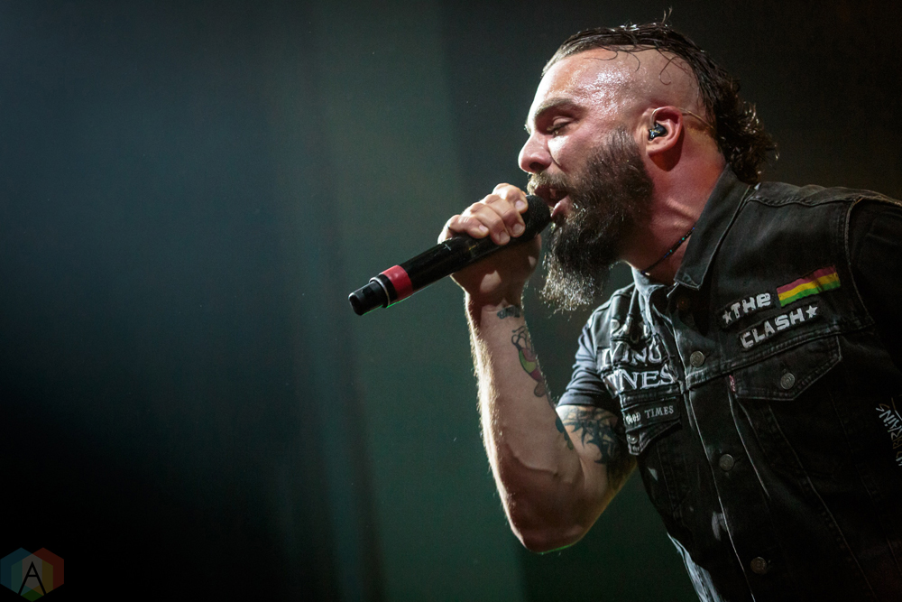 Killswitch Engage performs at the Danforth Music Hall in