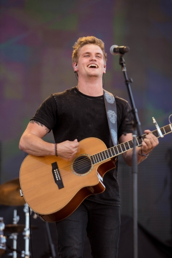 Levi Hummon performs at Stagecoach Festival at the Empire Polo Club in Indio, California on April 30, 2017. (Photo: Chris Miller)