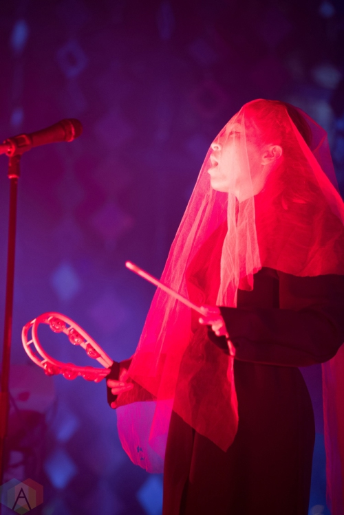 Little Dragon performs at the Danforth Music Hall in Toronto on May 4, 2017. (Photo: Brendan Albert/Aesthetic Magazine)