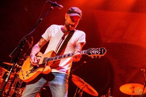 Lucero performs at Lupo's Heartbreak Hotel in Providence, RI on May 16, 2017. (Photo: Timothy Boyer/Aesthetic Magazine)