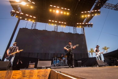 Luke Combs performs at Stagecoach Festival at the Empire Polo Club in Indio, California on April 30, 2017. (Photo: Chris Miller)