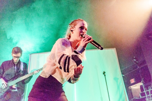 Marian Hill performs at St. Andrew's Hall in Detroit on May 30, 2017. (Photo: Taylor Ohryn/Aesthetic Magazine)