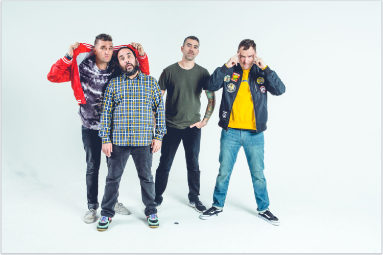 Makes Me Sick is New Found Glory first new album since 2014's Resurrection.