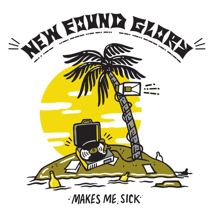 New Found Glory released their new album, Makes Me Sick, on April 28th via Hopeless.