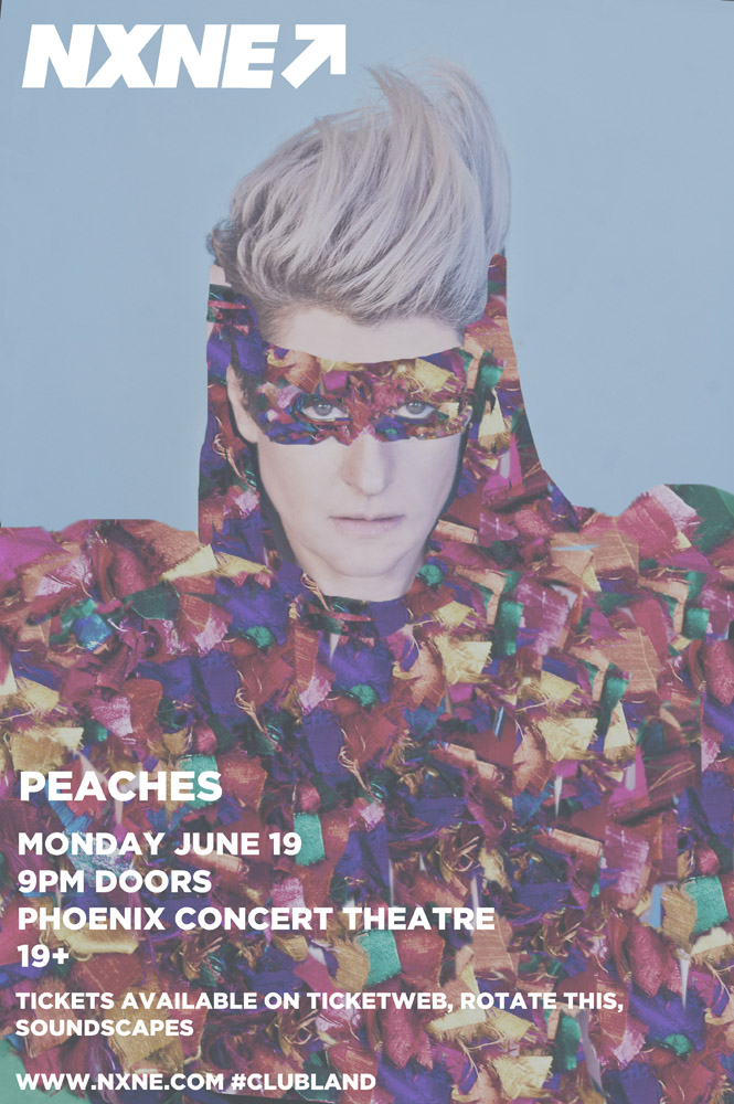 NXNE Launch Party Peaches 2017