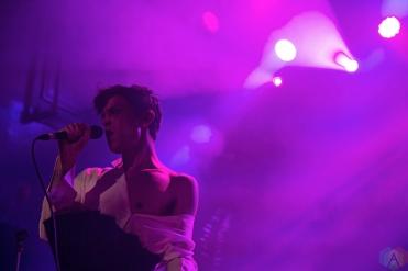 Perfume Genius performs at Mod Club in Toronto on May 11, 2017. (Photo: Theo Rallis/Aesthetic Magazine)