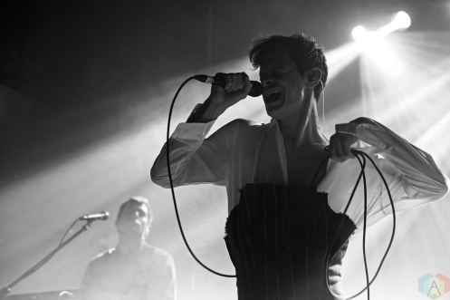 Perfume Genius performs at Mod Club in Toronto on May 11, 2017. (Photo: Theo Rallis/Aesthetic Magazine)