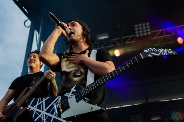 Pierce The Veil performs at Welcome To Rockville at Metropolitan Park in Jacksonville, Florida on April 29, 2017. (Photo: Savannah Rowley/Aesthetic Magazine)