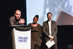 2017 Grand Prize winner Martin C. Parizeau at the Prism Prize gala at TIFF Lightbox in Toronto on May 14, 2017. (Photo: Joanna Glezakos/Aesthetic Magazine)
