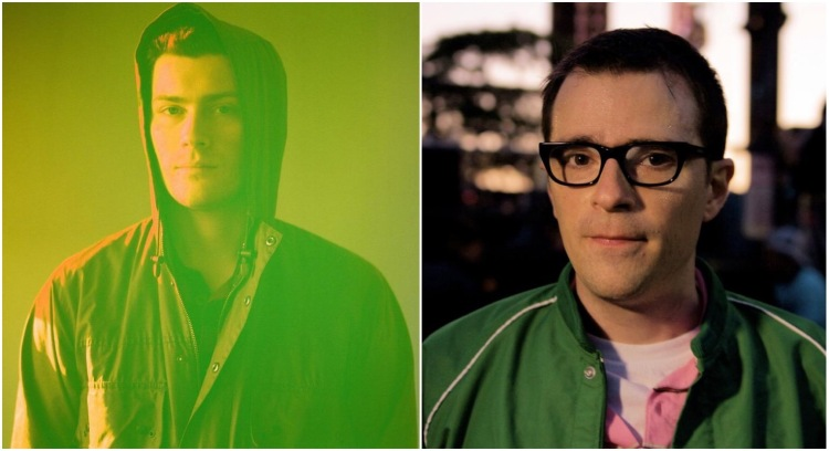 RAC and Weezer's Rivers Cuomo.