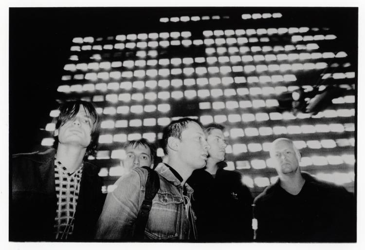 Radiohead. (Photo: Tom Sheehan)