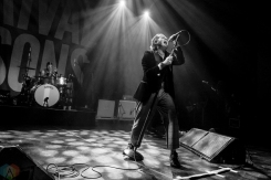 Rival Sons performs at the Danforth Music Hall in Toronto on May 8, 2017. (Photo: Dale Benvenuto/Aesthetic Magazine)