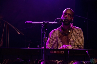 Serpentwithfeet performs at Mod Club in Toronto on May 11, 2017. (Photo: Theo Rallis/Aesthetic Magazine)