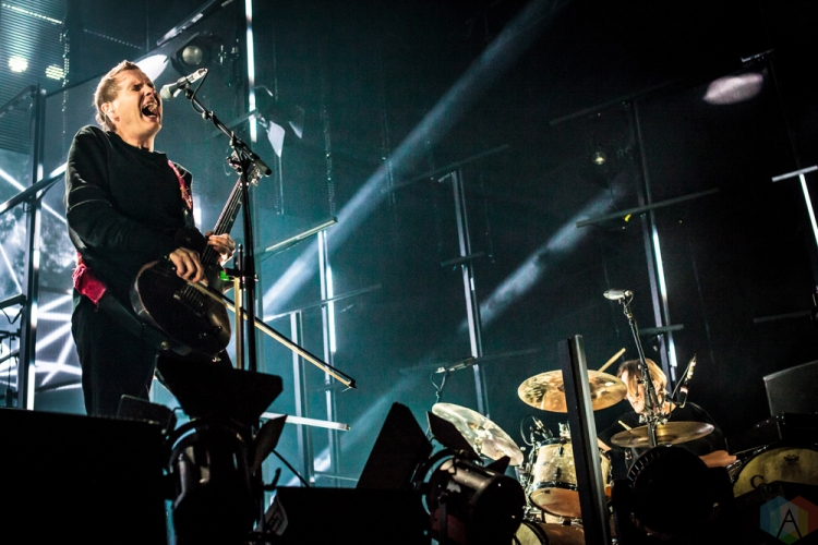 Sigur Ros performs at Echo Beach in Toronto on May 28, 2017. (Photo: David McDonald/Aesthetic Magazine)