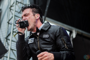 Starset performs at Welcome To Rockville at Metropolitan Park in Jacksonville, Florida on April 29, 2017. (Photo: Savannah Rowley/Aesthetic Magazine)
