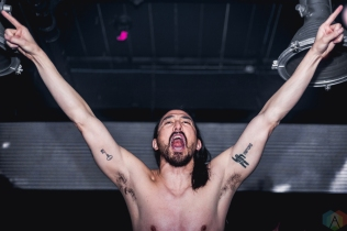 Steve Aoki performs at Uniun Nightclub in Toronto on May 11, 2017. (Photo: Anton Mak/Aesthetic Magazine)