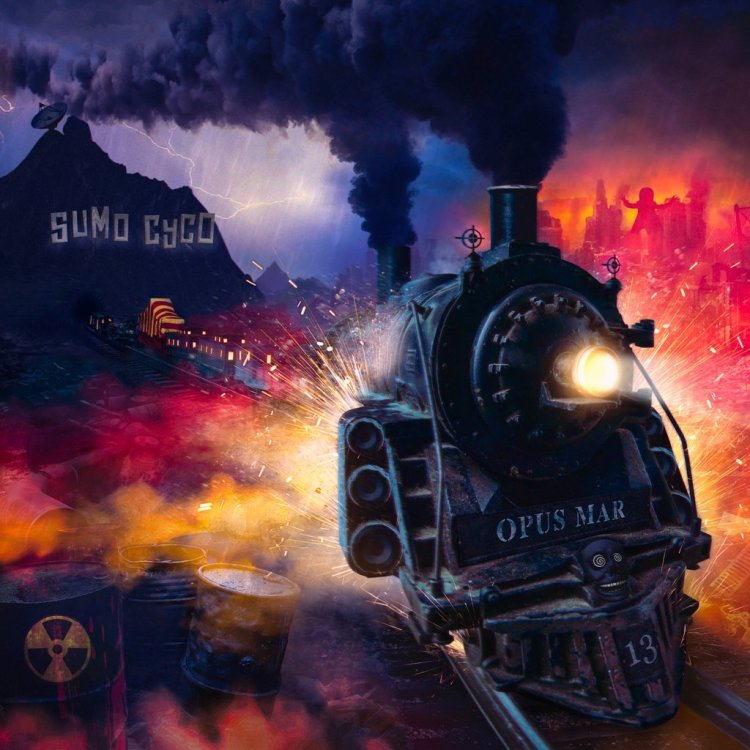 Sumo Cyco released their second album, Opus Mar, on March 31st, 2017.