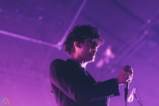 The 1975 performs at the PNE Forum in Vancouver on May 1, 2017. (Photo: Natasha Priya/Aesthetic Magazine)