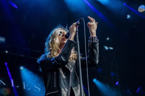 The Pretty Reckless performs at Welcome To Rockville at Metropolitan Park in Jacksonville, Florida on April 29, 2017. (Photo: Savannah Rowley/Aesthetic Magazine)