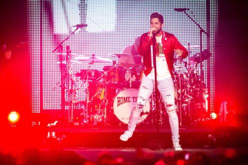 Thomas Rhett performs at Stagecoach Festival at the Empire Polo Club in Indio, California on April 30, 2017. (Photo: Erik Voake)