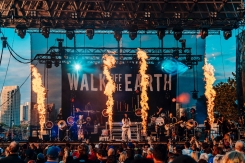Walk Off The Earth performs at CBC Music Festival at Echo Beach in Toronto on May 27, 2017. (Photo: Nicole De Khors/Aesthetic Magazine)