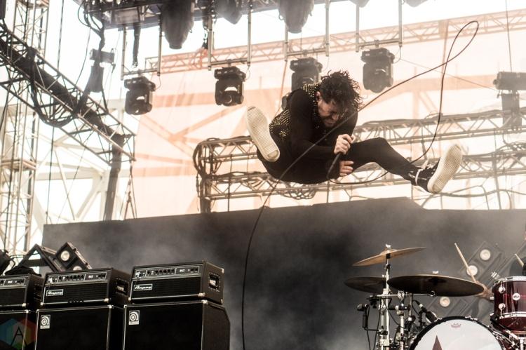 AFI performs at the Bunbury Music Festival in Cincinnati on June 4, 2017. (Photo: Taylor Ohryn/Aesthetic Magazine)