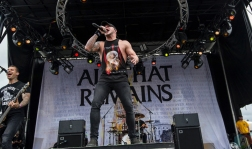 All That Remains performs at Montebello Rockfest in Montebello, Quebec on June 23, 2017. (Photo: Greg Matthews/Aesthetic Magazine)