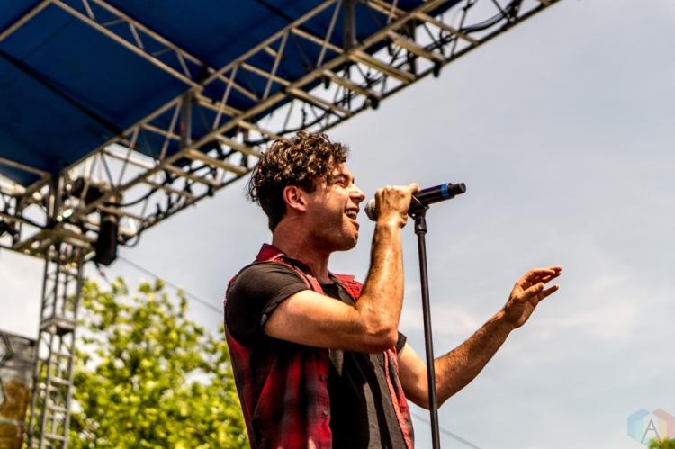 Arkells performs at the Bunbury Music Festival in Cincinnati on June 4, 2017. (Photo: Taylor Ohryn/Aesthetic Magazine)