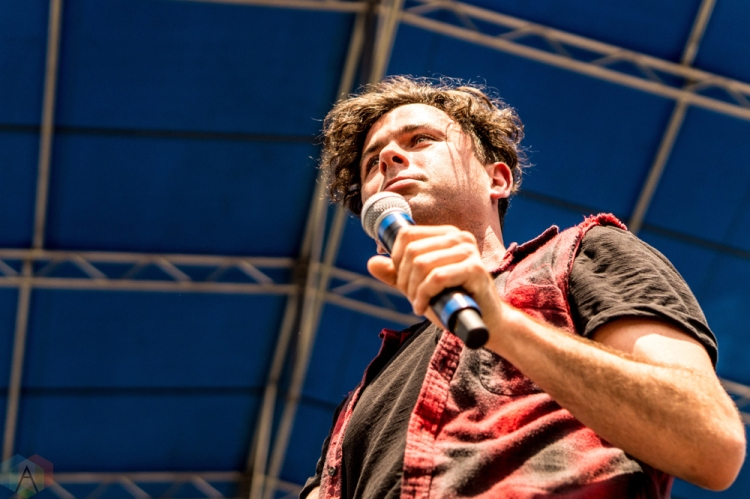 Arkells performs at the Bunbury Music Festival in Cincinnati on June 4, 2017. (Photo: Taylor Ohryn/Aesthetic Magazine)