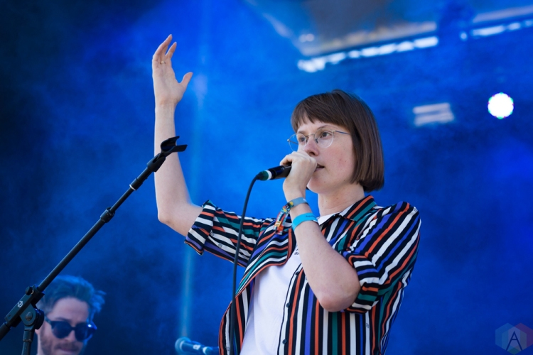 Bernice performs at the Field Trip Music Festival in Toronto on June 3, 2017. (Photo: Brendan Albert/Aesthetic Magazine)