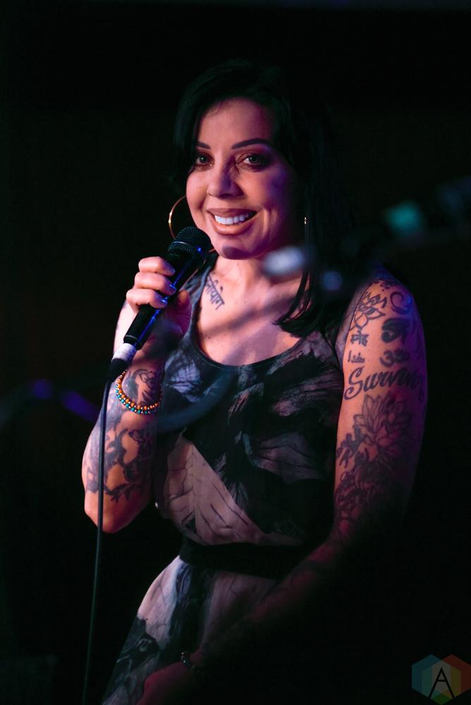 Bif Naked performs at Adelaide Hall in Toronto on June 21, 2017. (Photo: Jaime Espinoza/Aesthetic Magazine)