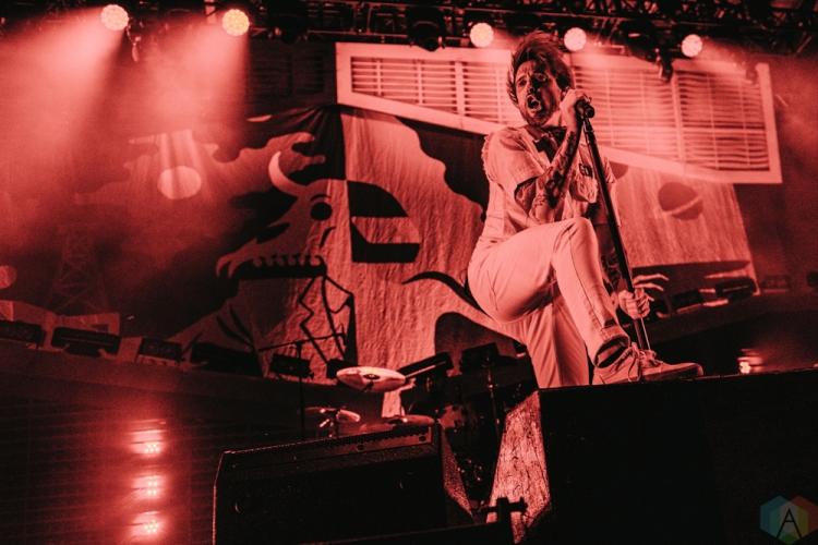 Billy Talent performs at Tim Hortons Field in Hamilton on June 3, 2017. (Photo: Francesca Ludikar/Aesthetic Magazine)