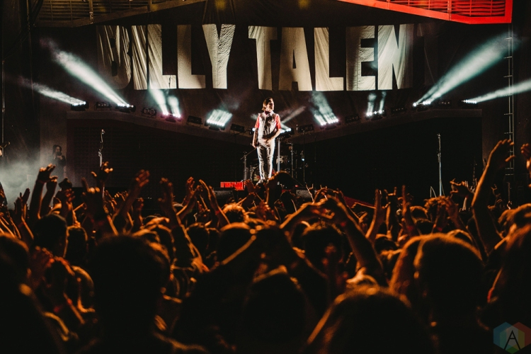 Billy Talent performs at Tim Hortons Field in Hamilton on June 3, 2017. (Photo: Francesca Ludikar/Aesthetic Magazine)