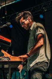 Blajk performs at NXNE Port Lands in Toronto on June 24, 2017. (Photo: Nicole De Khors/Aesthetic Magazine)