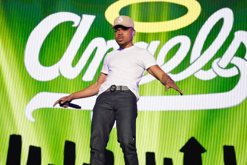 Chance The Rapper performs at Governors Ball in New York City on June 2, 2017. (Photo: Taylor Hill/Getty)