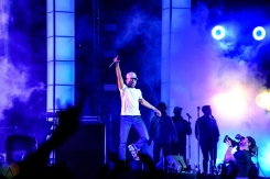Chance The Rapper performs at Governors Ball in New York City on June 2, 2017. (Photo: Alx Bear/Aesthetic Magazine)