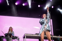 Charli XCX performs at Governors Ball in New York City on June 2, 2017. (Photo: Alx Bear/Aesthetic Magazine)