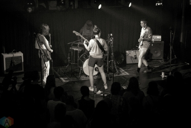 Chastity Belt performs at the Great Hall in Toronto on June 17, 2017. (Photo: Dan Fischer/Aesthetic Magazine)